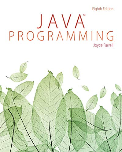 Java Programming: An Introduction to Victimology: Joyce Farrell