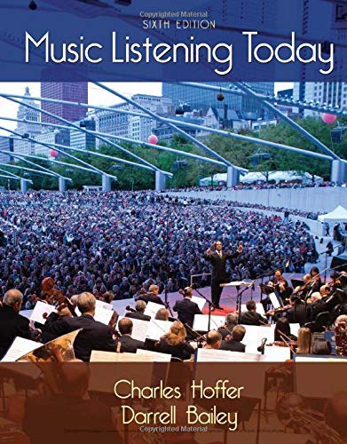 9781285858128: Music Listening Today (with Digital Music Download Printed Access Card for the 4 CD Set)