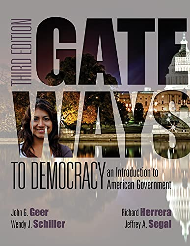 9781285858548: Gateways to Democracy: An Introduction to American Government