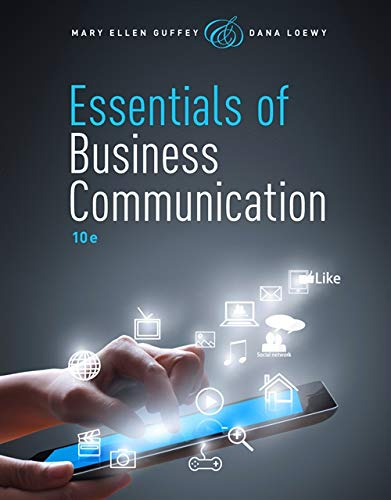 9781285858913: Essentials of Business Communication (with Premium Website, 1 term (6 months) Printed Access Card)
