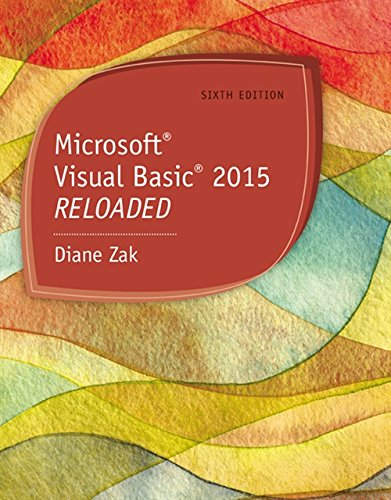 9781285860190: Microsoft Visual Basic 2015: Reloaded