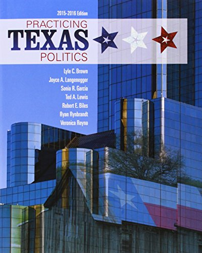 9781285861050: Practicing Texas Politics (Book Only)