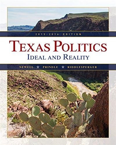 9781285861159: Texas Politics 2015-2016 (Book Only)