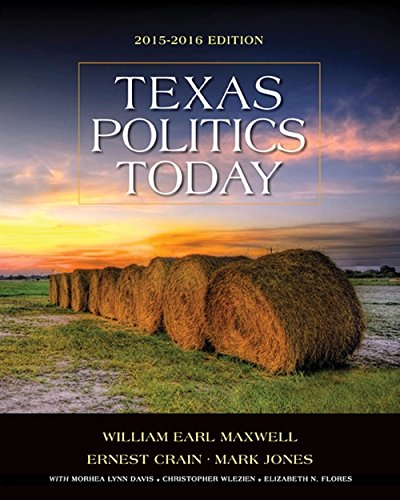 9781285861913: Texas Politics Today 2015-2016 Edition (Book Only)