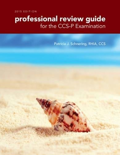 9781285863375: Professional Review Guide for the CCS-P Examination, 2015 Edition (with Premium Web Site, 2 terms (12 months) Printed Access Card)