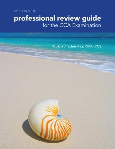 9781285863382: Professional Review Guide for the CCA Examination, 2015 Edition (with Premium Web Site, 2 terms (12 months) Printed Access Card)