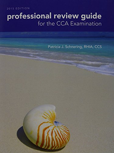 9781285863412: Professional Review Guide for the CCA Examination, 2015 Edition (Book Only)