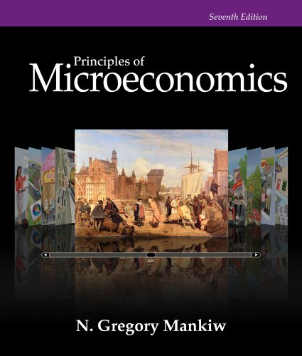 Study Guide for Mankiw's Principles of Microeconomics: N. Gregory Mankiw