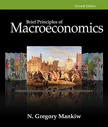 9781285864266: Study Guide for Mankiw's Brief Principles of Macroeconomics, 7th