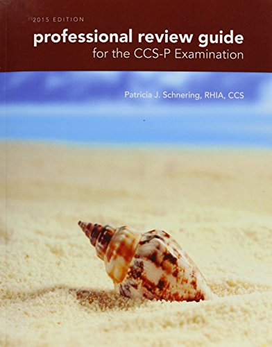 9781285865928: Professional Review Guide for the CCS-P Examination, 2015 Edition (Book Only)