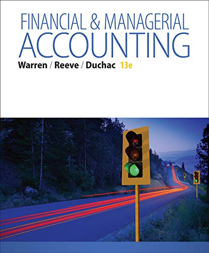 9781285866307: Financial & Managerial Accounting