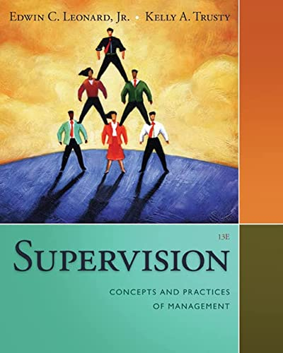 9781285866376: Supervision: Concepts and Practices of Management