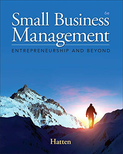9781285866383: Small Business Management: Entrepreneurship and Beyond