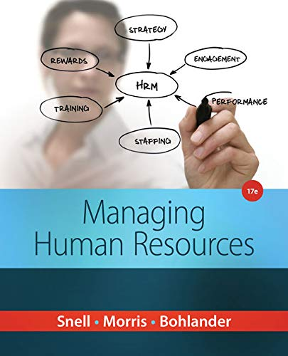 9781285866390: Managing Human Resources
