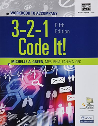 9781285867229: Student Workbook for Green's 3,2,1 Code It!, 5th