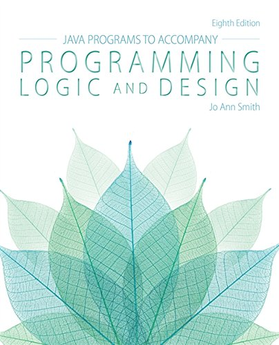9781285867403: Java™ Programs for Programming Logic and Design
