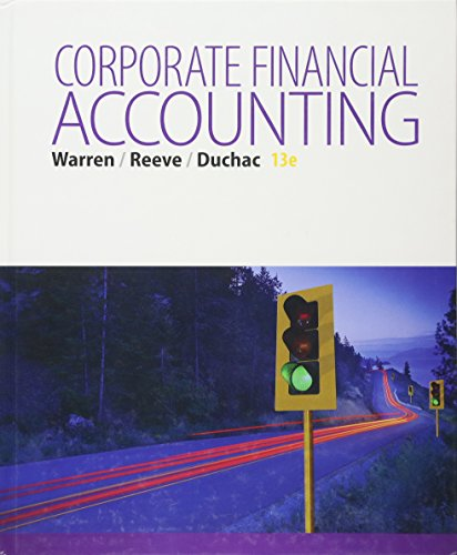 9781285868783: Corporate Financial Accounting