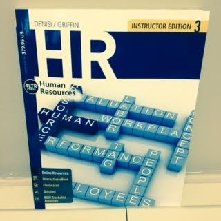 9781285869483: I.E. H R HUMAN RESOURCES 2016 3RD. INSTRUCTOR EDITION PAPERBACK