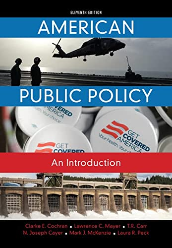 9781285869773: American Public Policy: An Introduction