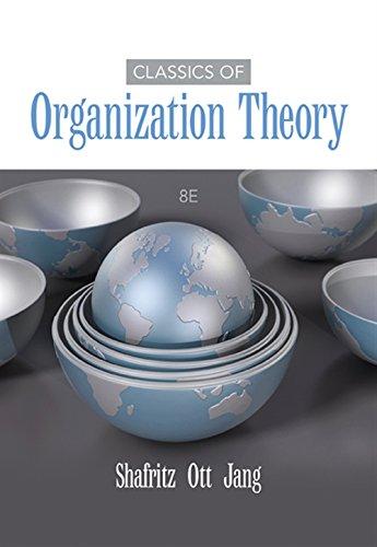 9781285870274: Classics of Organization Theory