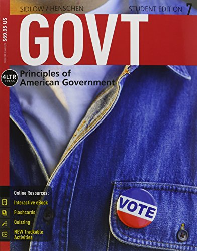 9781285871110: GOVT 7 (Book Only)