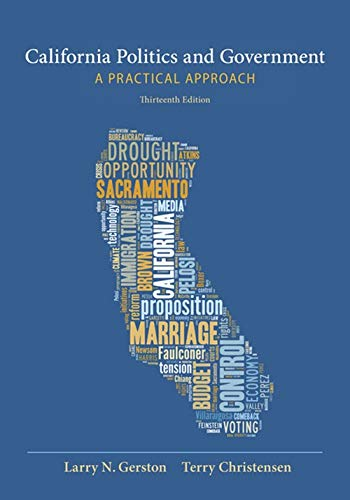 9781285874524: California Politics and Government: A Practical Approach