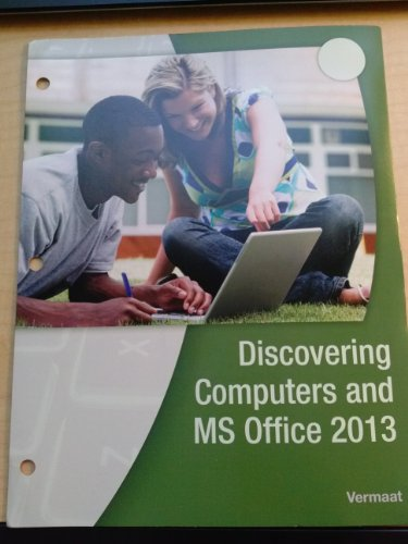 9781285876160: Discovering Computers and Ms Office 2013