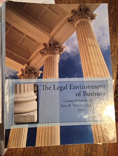 9781285877266: Legal Environment of Business