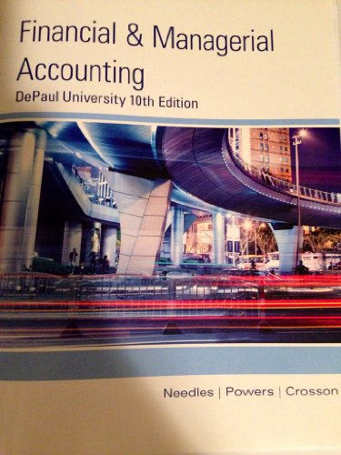 9781285877969: Financial and Managerial Accounting (DePaul University)