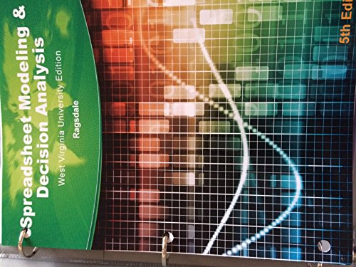 9781285879819: Spreadsheet Modeling & Decision Analysis