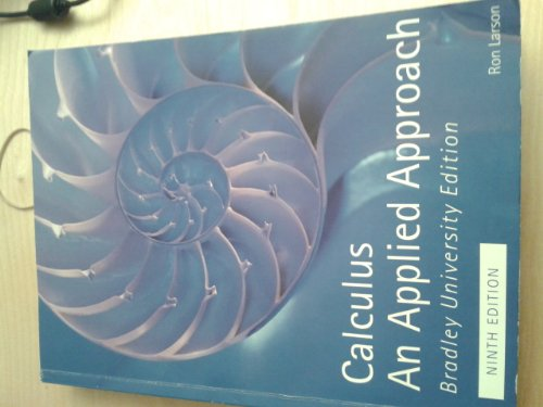 9781285880235: Calculus An Applied Approach - 9th edition