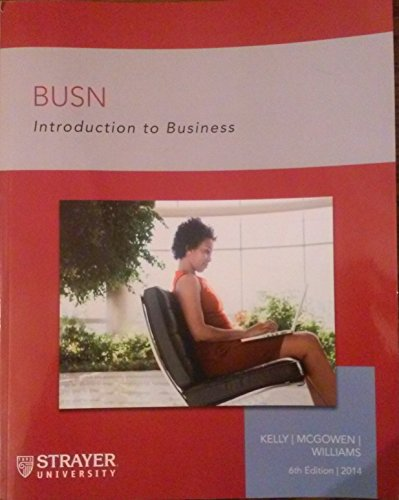 9781285880341: BUSN Introduction to Business