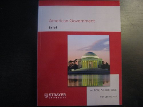 9781285880884: American Government