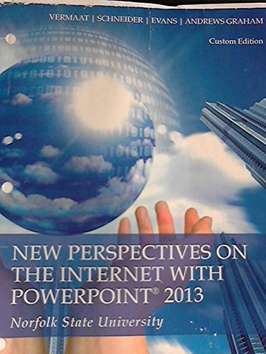 9781285882918: New Perspectives on the Internet with Powerpoint 2013 (Norfolk State University)