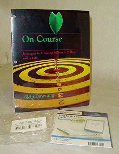 9781285883106: On Course 7th Edition : PCC Bundle with Course Master Media
