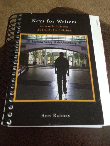 9781285885575: Keys for Writers