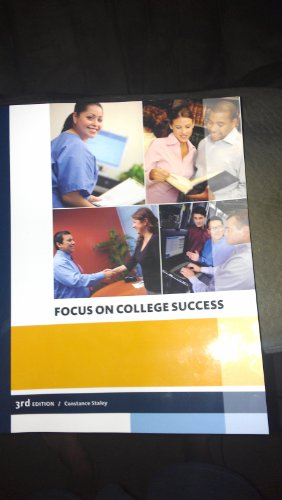 9781285886107: Focus on College Success 3rd Edition