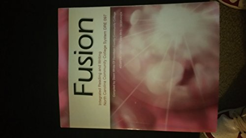 9781285889320: Fusion: Integrated Reading and Writing North Carolina Community College System DRE 097