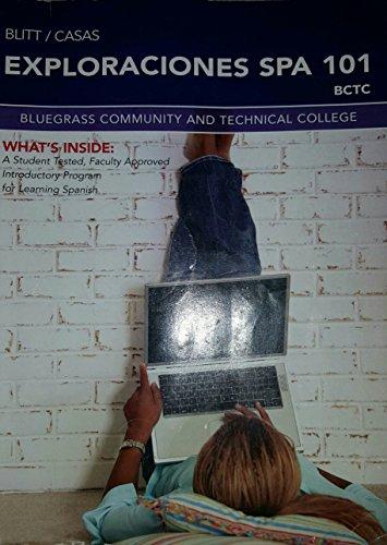 9781285889375: Exploraciones SPA 101 (Bluegrass Community and Technical College)