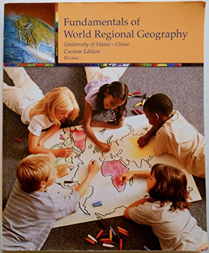 9781285889849: Fundamentals of World Regional Geography (University of Maine - Orono: Custom Edition)