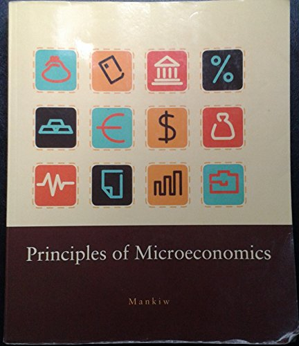 9781285890241: Principles of Microeconomics (Custom)