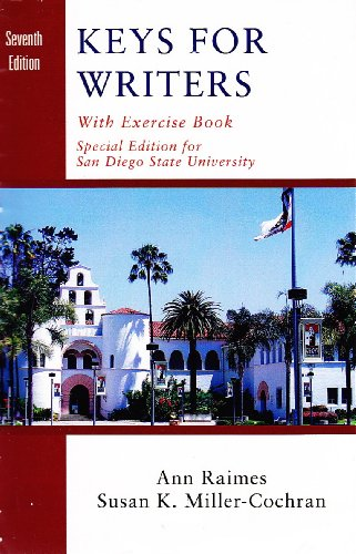 9781285890968: Keys for Writers with exercise book special edition for San Diego State University