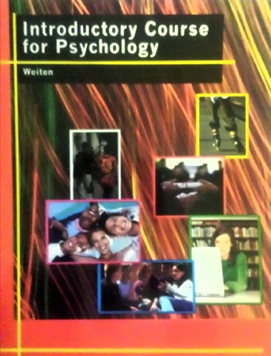 9781285891064: Introductory Course for Psychology
