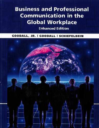 9781285896694: Business and Professional Communication in the Global Workplace Enhanced Edition