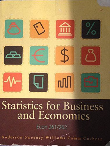 9781285896786: Statistics for Business and Economics