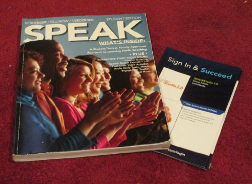 9781285901657: Speak Student Edition with CourseMate