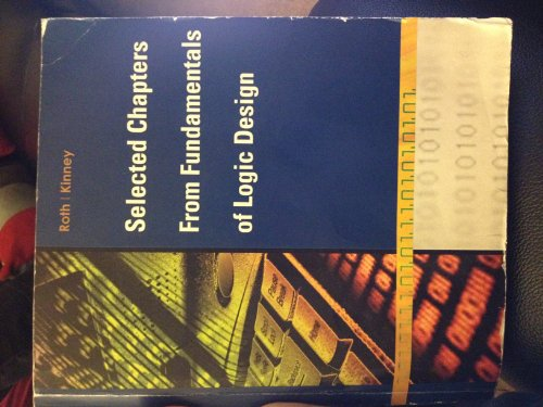 9781285903248: Selected Chapters From Fundamentals of Logic Design with Cd