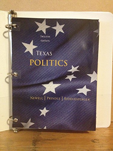 9781285903569: Texas Politics- 12th Edition