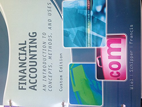 9781285905013: Financial Accounting an Introduction to Concepts, Methods, and Uses