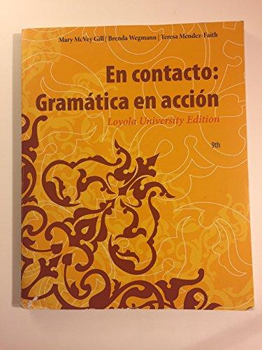 9781285906126: En Contacto: Gramatica en accion, Loyola University